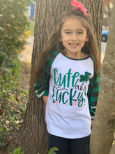 SALE! IN STOCK! Cute and Lucky Raglan