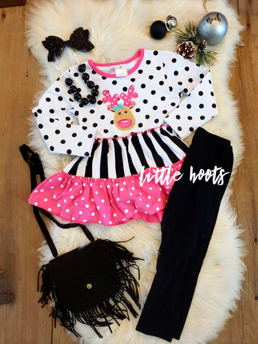 IN STOCK! Pink Reindeer Set