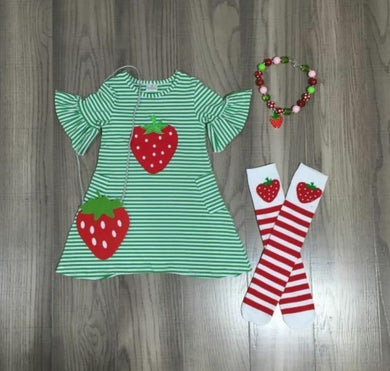 Preorder! Strawberry Dress Full Set