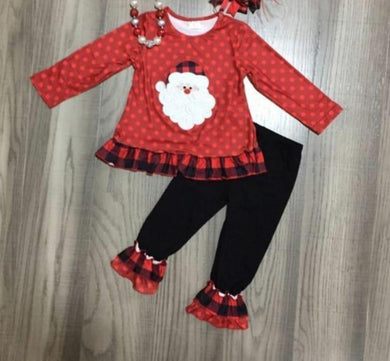 Preorder! Plaid Santa Set