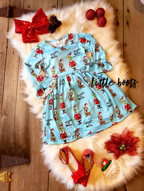 SALE! IN STOCK! Naughty or Nice Dress