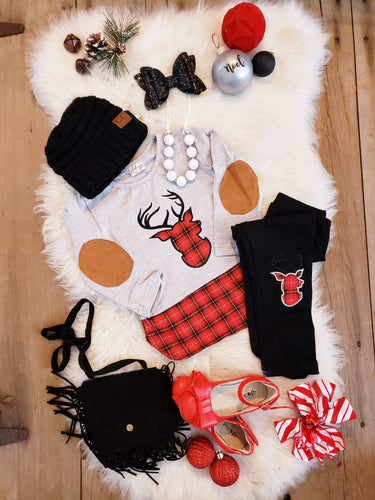 IN STOCK! Reindeer Elbow Patch Set