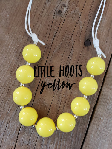 IN STOCK! Yellow Bead Necklace