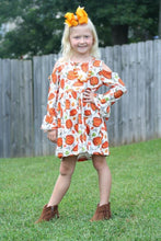 IN STOCK! Open Shoulder Pumpkin Dress