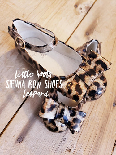 sale! IN STOCK! Sienna Bow Shoes-Leopard