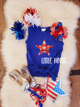 sale!IN STOCK! Star Tie Top