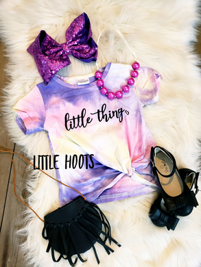 IN STOCK! Little Thing Knot Top