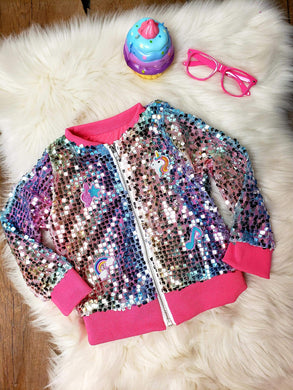 INVENTORY LIQUIDATION! IN STOCK!  Jojo Inspired Sequin Jacket