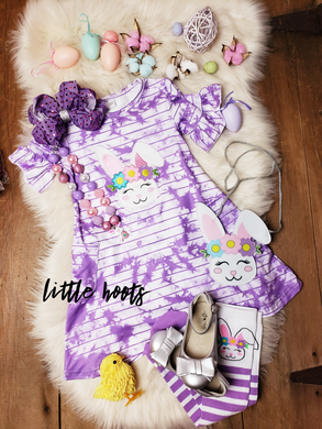 IN STOCK! Tiedye Bunny Pocket Dress