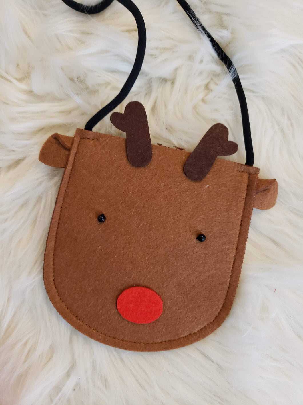 IN STOCK! Brown Reindeer Purse