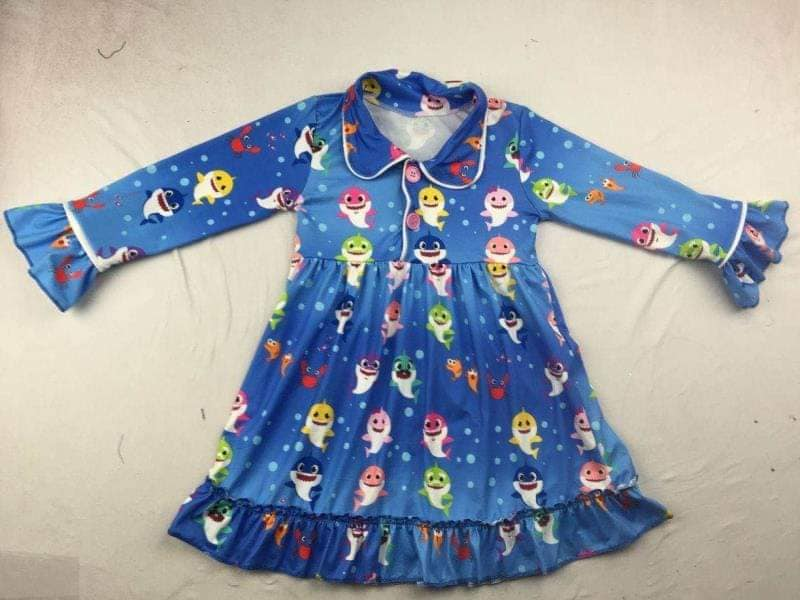 IN STOCK! Baby Shark Nightgown