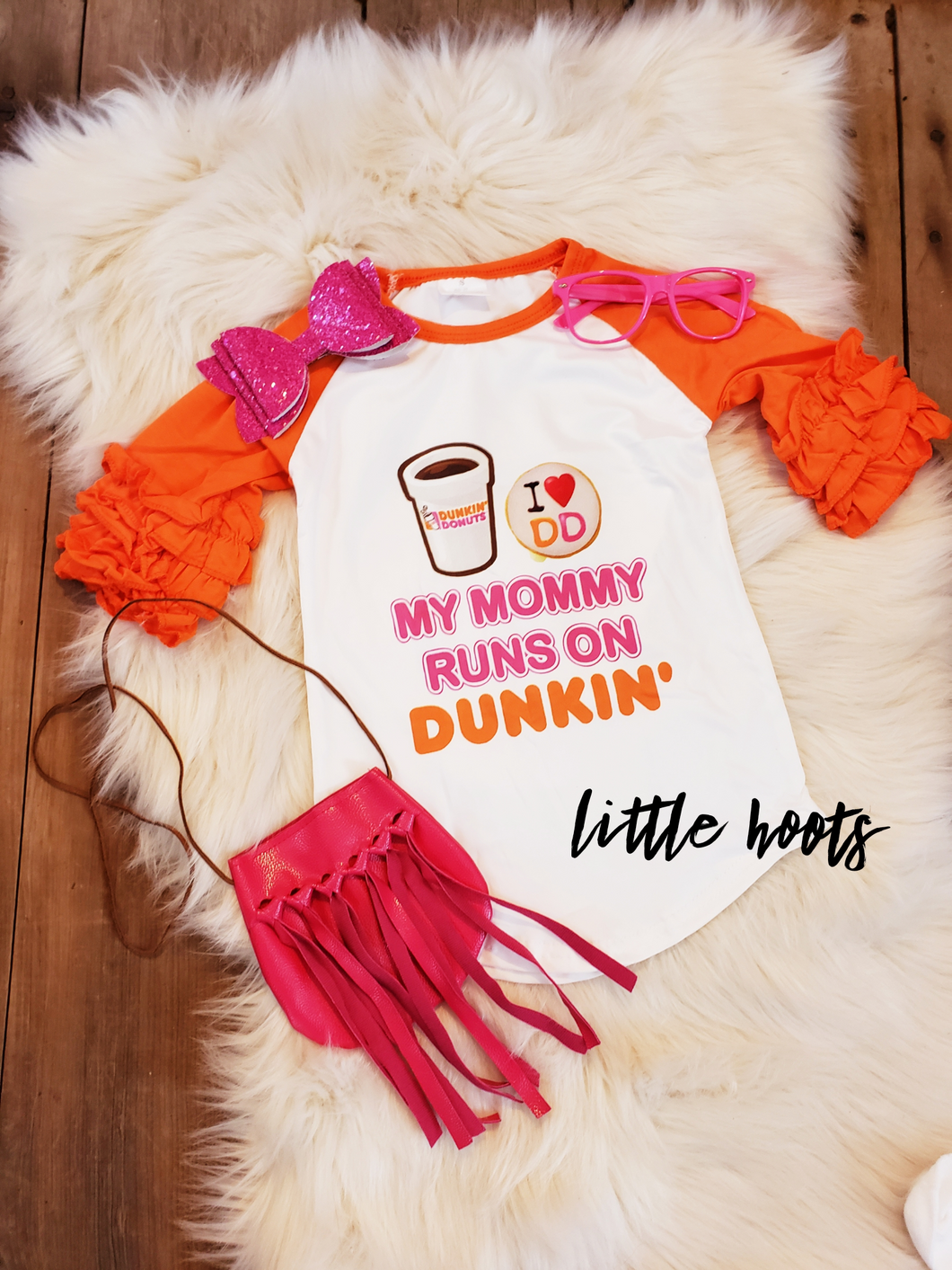 sale! IN STOCK! Dunkin Raglan