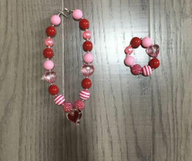 Preorder! Valentine Necklace and bracelet set