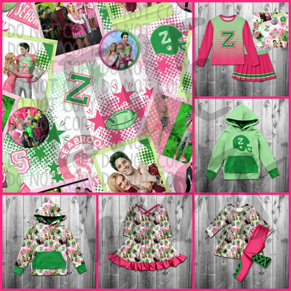 IN STOCK! Zombie Twirl Dress