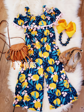 IN STOCK! Lemon Pants Romper