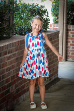 sale! IN STOCK! Patriotic Popsicle Tie Dress