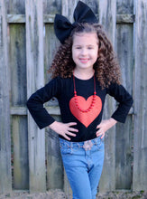 SALE! IN STOCK! Sparkle Heart Top