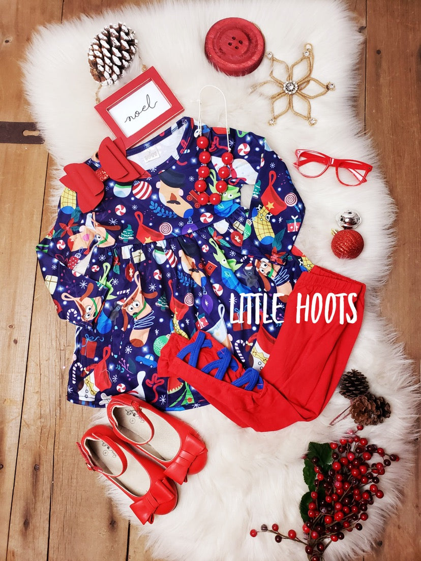 IN STOCK! TS Holiday Stocking Set