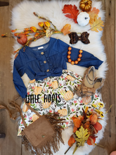 sale! IN STOCK! Denim Pumpkin Dress