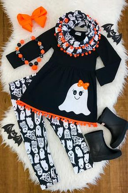 SALE! IN STOCK: Cute Little Ghost Girl 3 piece set