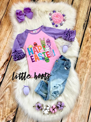 sale! IN STOCK: Happy Easter Raglan