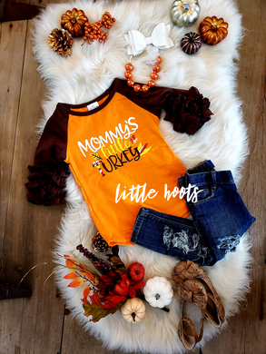 SALE! IN STOCK! Mommy's Turkey Raglan