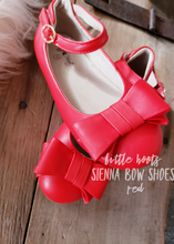IN STOCK! Sienna Bow Shoes- RED