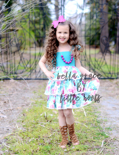 SALE! In Stock! Premium Bella Grace Petal Princess Dress