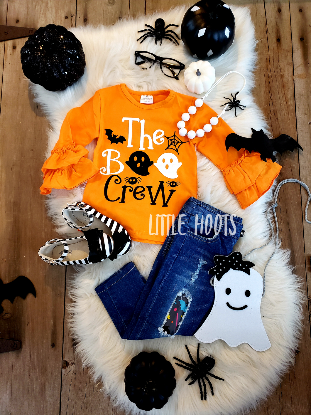 SALE! IN STOCK: Boo Crew Denim Set