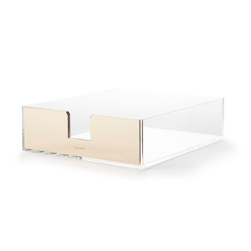 kate spade new york strike gold desk tray - things to do
