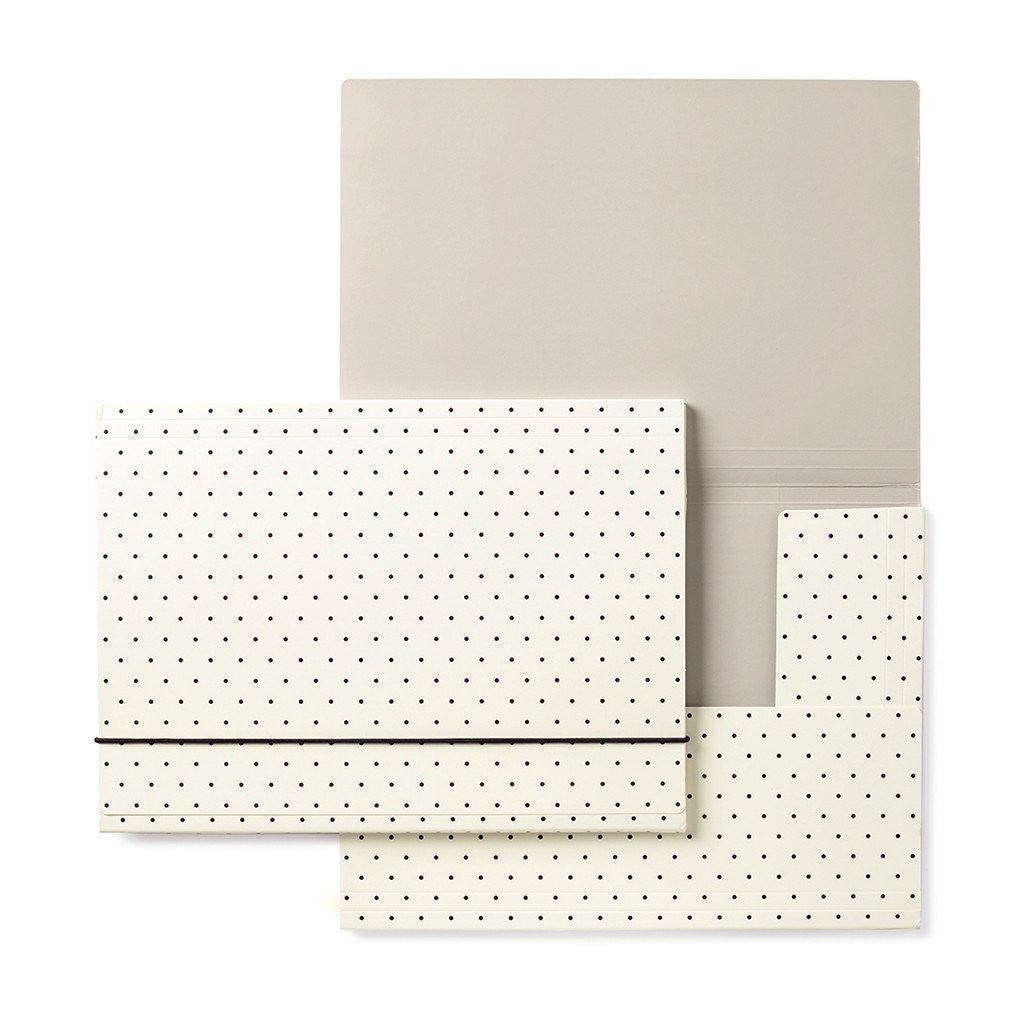 kate spade new york folio set - bikini dot