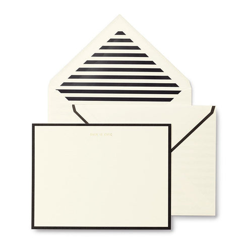 kate spade new york notecard set - talk is chic
