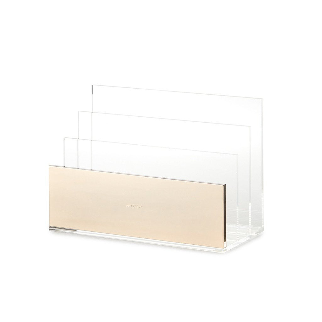 kate spade new york strike gold file organizer - sort it out