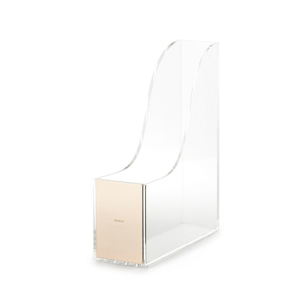 kate spade new york strike gold magazine holder - etcetera