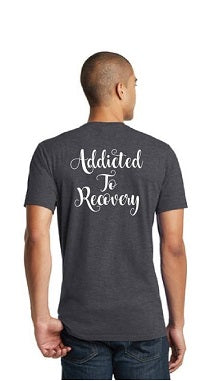 Addicted To Recovery T (Charcoal Unisex)