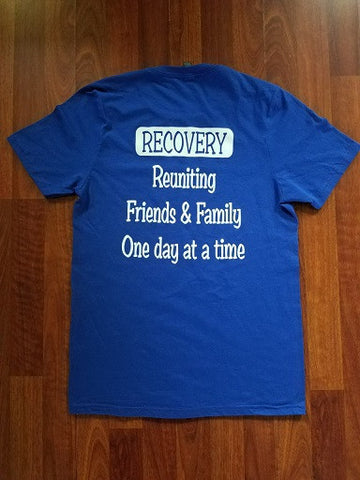 Friends & Family T (Royal Blue)