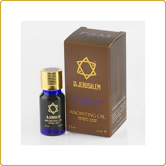 Frankincense & Myrrh Blessing Oil 10ml.