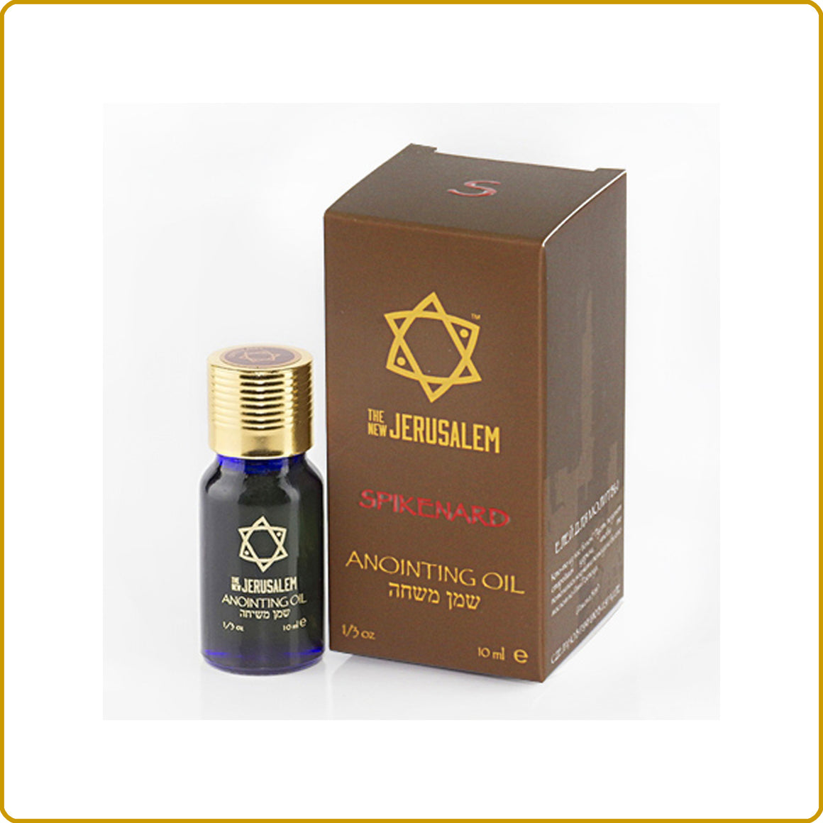 Spikenard Blessing Oil 10ml.