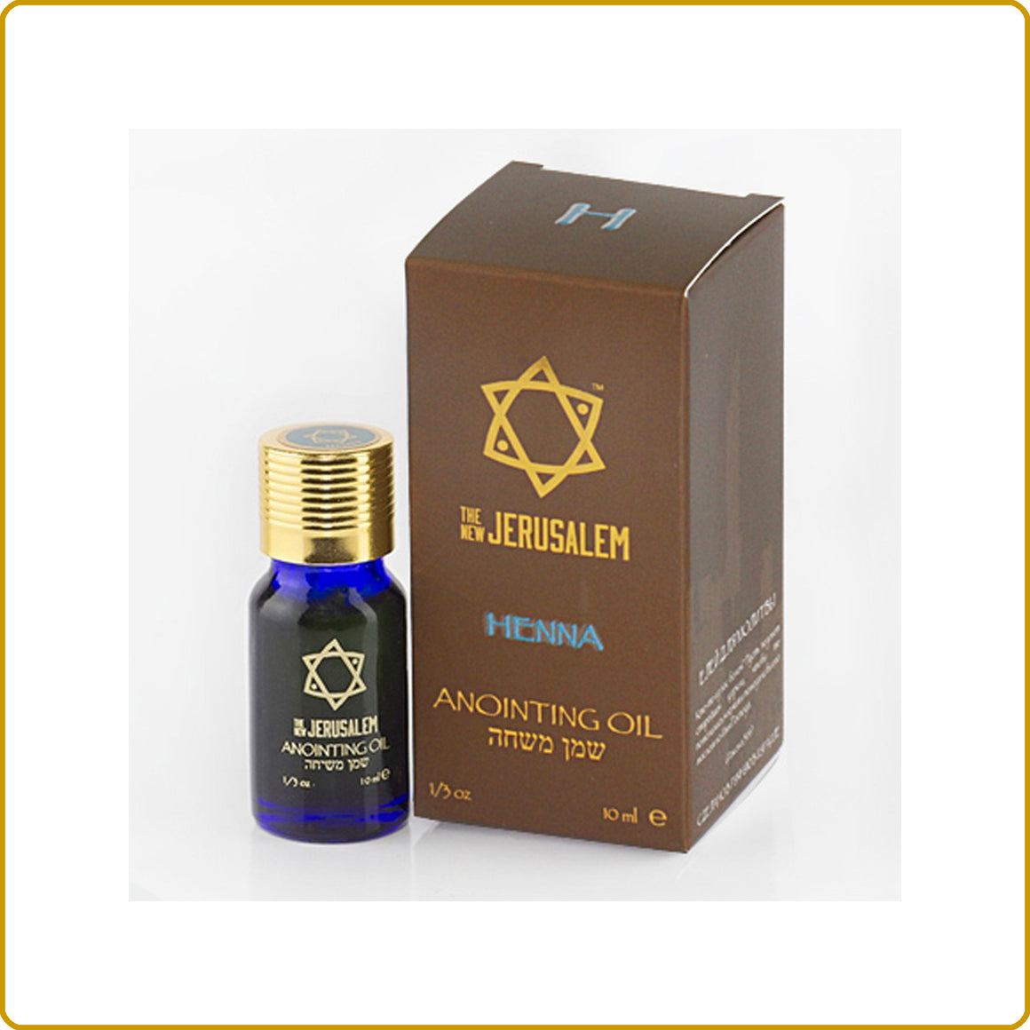 Henna Blessing Oil 10ml.