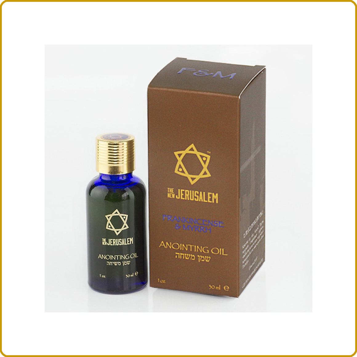 Frankincense & Myrrh Blessing Oil 30ml.