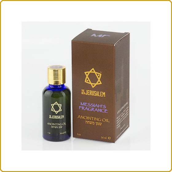 Messiah's Fragrance Blessing Oil 30ml.