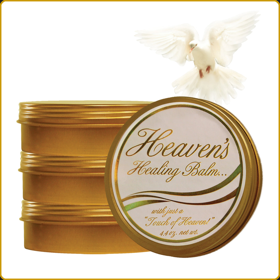 Heaven's Healing Balm 4 - Pack Special with FREE SHIPPING!