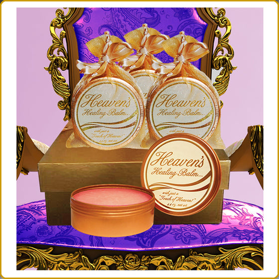 Heaven's Healing Balm 4 Pack Gift Box with FREE SHIPPING!