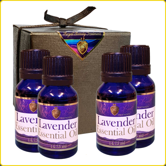 4 - Organic Lavender Essential Oil .5 oz with FREE SHIPPING!