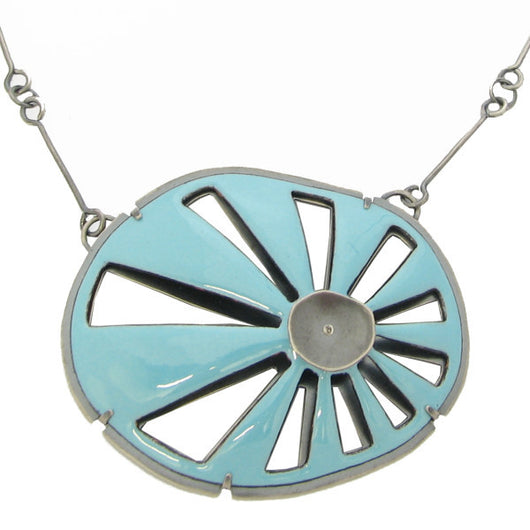 ray enamel necklace - Lisa Crowder Jewelry