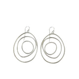small hatch slice earrings - Lisa Crowder Jewelry