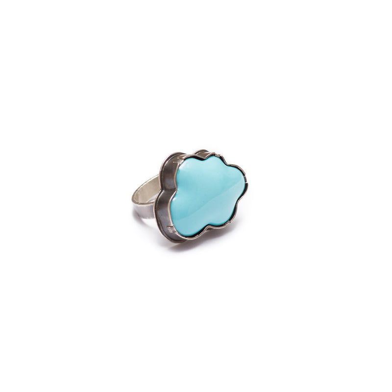 enamel cloud ring - Lisa Crowder Studio