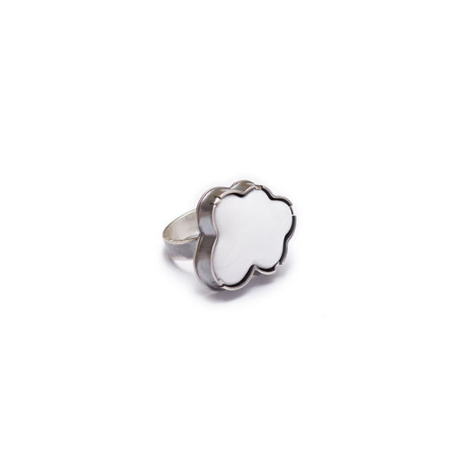 enamel cloud ring - Lisa Crowder Jewelry