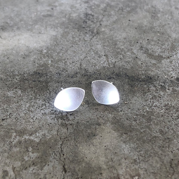tiny dish post earring - Lisa Crowder Studio