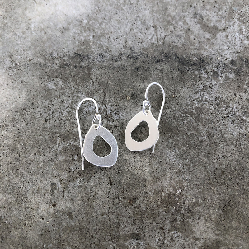 tiny rough cut dangle - Lisa Crowder Studio
